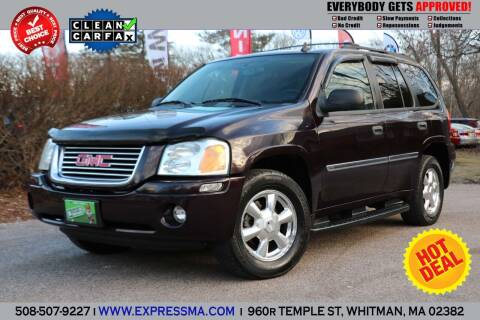 2008 GMC Envoy for sale at Auto Sales Express in Whitman MA