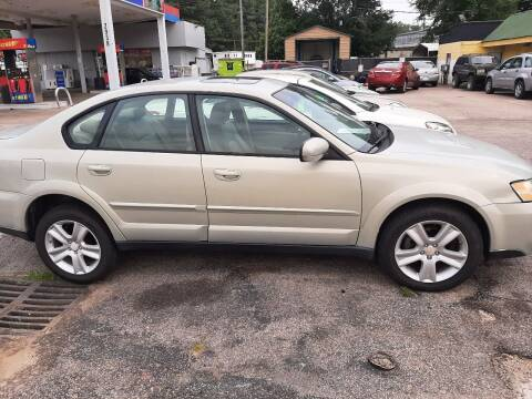 2005 Subaru Outback for sale at All Star Auto Sales of Raleigh Inc. in Raleigh NC