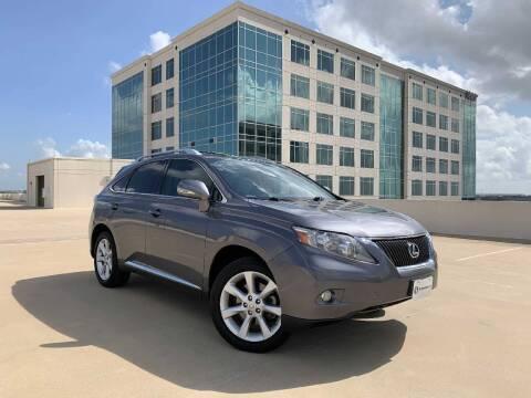 2012 Lexus RX 350 for sale at SIGNATURE Sales & Consignment in Austin TX