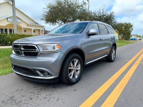 2014 Dodge Durango for sale at GTR Motors in Davie FL