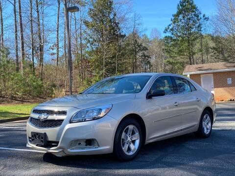 2013 Chevrolet Malibu for sale at Top Notch Luxury Motors in Decatur GA
