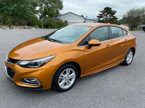2017 Chevrolet Cruze for sale at Charlie Pentzs Auto Sales in Waynesboro PA