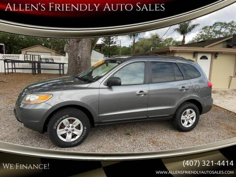 2009 Hyundai Santa Fe for sale at Allen's Friendly Auto Sales in Sanford FL