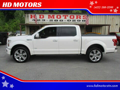 2016 Ford F-150 for sale at HD MOTORS in Kingsport TN