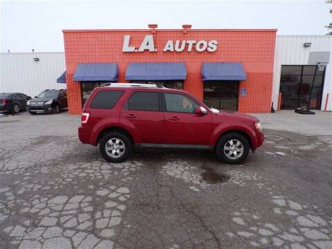 2011 Ford Escape for sale at L A AUTOS in Omaha NE