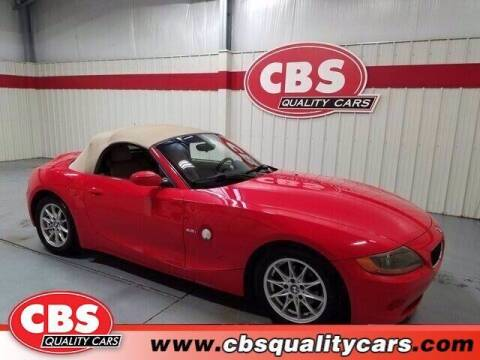 2003 BMW Z4 for sale at CBS Quality Cars in Durham NC
