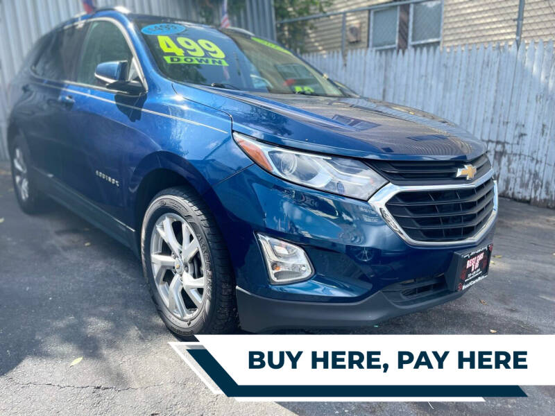 2019 Chevrolet Equinox for sale at Best Cars R Us LLC in Irvington NJ