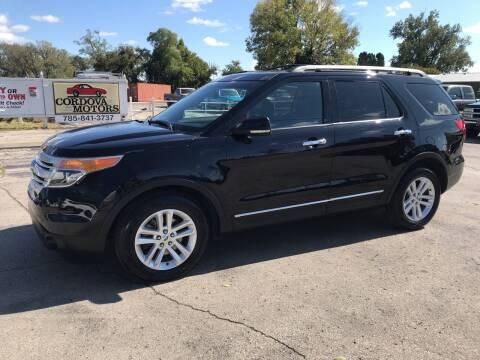 2011 Ford Explorer for sale at Cordova Motors in Lawrence KS