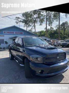 2007 Dodge Ram Pickup 1500 for sale at Supreme Motors in Tavares FL