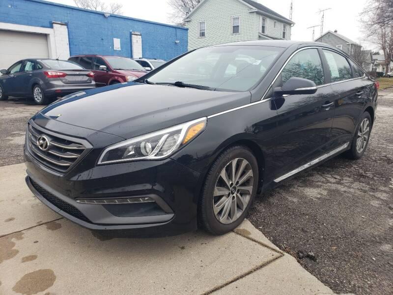 2015 Hyundai Sonata for sale at M & C Auto Sales in Toledo OH