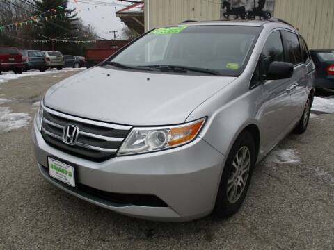 2012 Honda Odyssey for sale at Roland's Motor Sales in Alfred ME