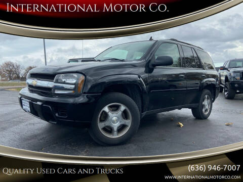 2006 Chevrolet TrailBlazer for sale at International Motor Co. in St. Charles MO