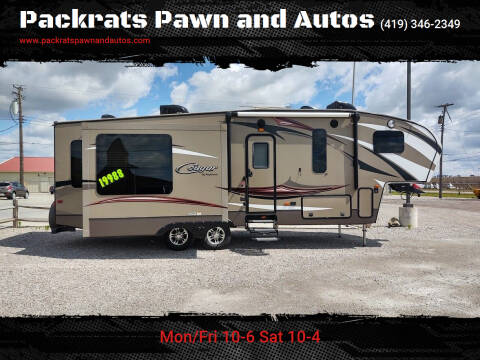 2015 Keystone CG28SGS15 for sale at Packrats Pawn and Autos in Defiance OH