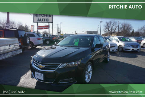2015 Chevrolet Impala for sale at Ritchie Auto in Appleton WI
