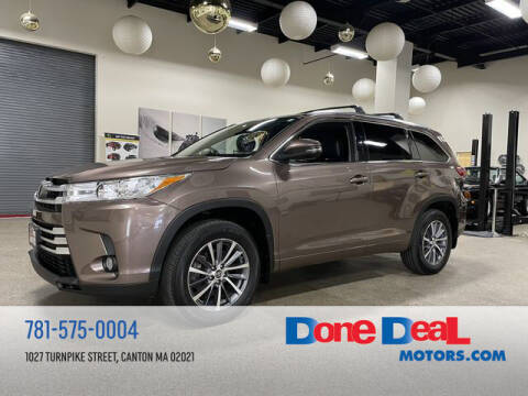 2018 Toyota Highlander for sale at DONE DEAL MOTORS in Canton MA