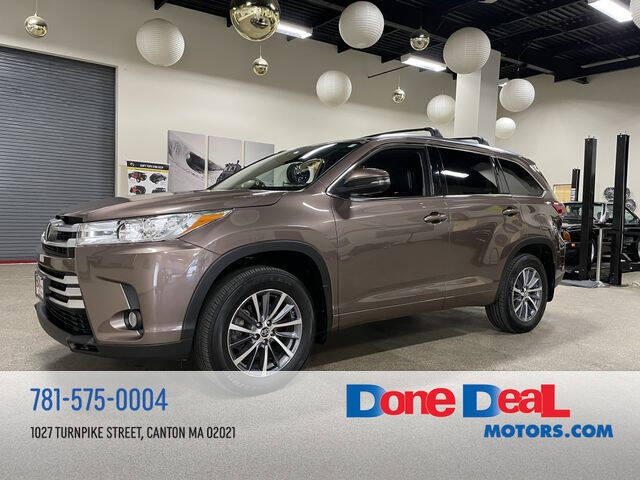 2018 Toyota Highlander for sale in Canton, MA