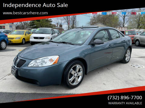 2005 Pontiac G6 for sale at Independence Auto Sale in Bordentown NJ