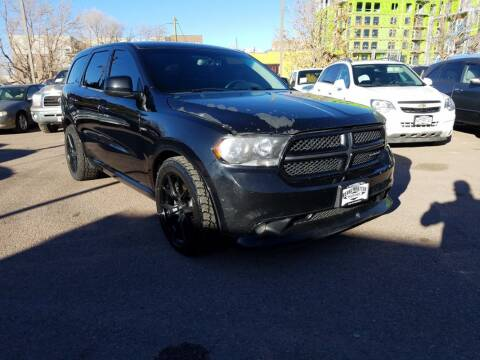 2013 Dodge Durango for sale at BERKENKOTTER MOTORS in Brighton CO