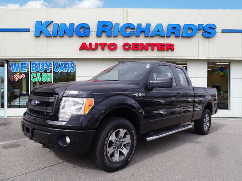 2013 Ford F-150 for sale at KING RICHARDS AUTO CENTER in East Providence RI