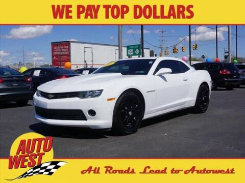 2015 Chevrolet Camaro for sale at Autowest Allegan in Allegan MI