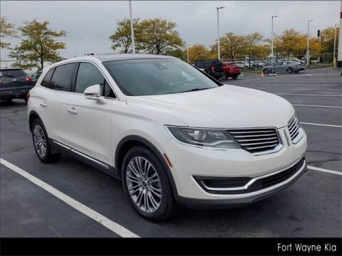 2016 Lincoln MKX for sale at BOB ROHRMAN FORT WAYNE TOYOTA in Fort Wayne IN
