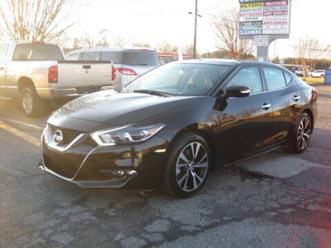 2018 Nissan Maxima for sale at 5 Star Auto in Matthews NC