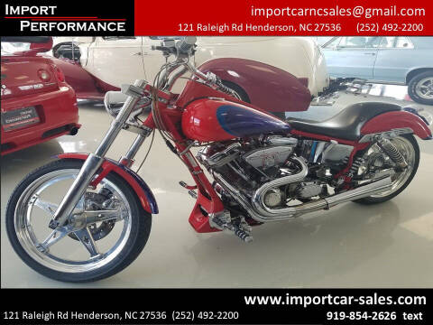 1998 Harley-Davidson SOFT TAIL  CUSTOM SPECTRUM for sale at Import Performance Sales - Henderson in Henderson NC