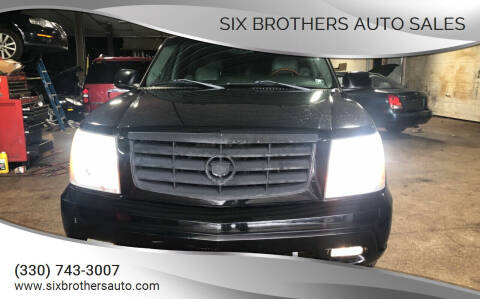 2003 Cadillac Escalade for sale at Six Brothers Auto Sales in Youngstown OH