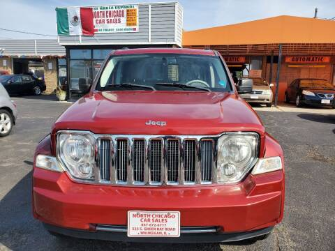 2008 Jeep Liberty for sale at North Chicago Car Sales Inc in Waukegan IL