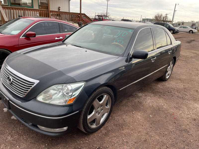 2005 Lexus LS 430 for sale at PYRAMID MOTORS - Fountain Lot in Fountain CO