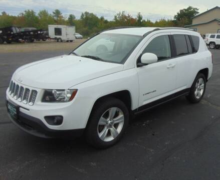 2015 Jeep Compass for sale at Greg's Auto Sales in Searsport ME