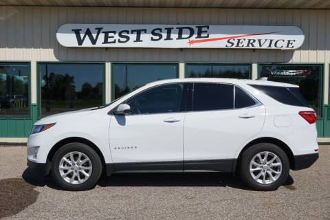 2018 Chevrolet Equinox for sale at West Side Service in Auburndale WI