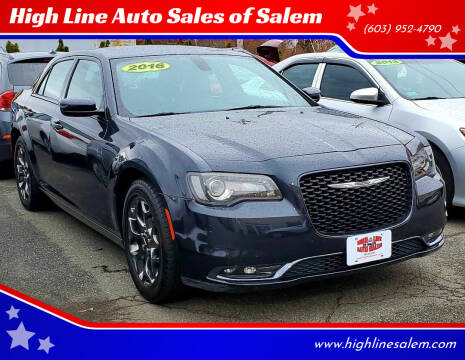 2016 Chrysler 300 for sale at High Line Auto Sales of Salem in Salem NH
