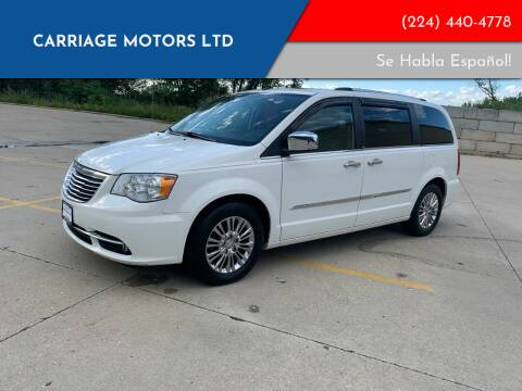 2011 Chrysler Town and Country for sale at Carriage Motors LTD in Ingleside IL
