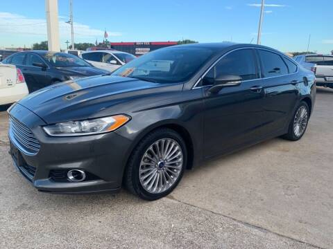 2015 Ford Fusion for sale at Car Now in Dallas TX