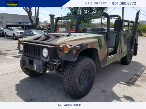 2006 AM General Hummer for sale at The Autoblock in Fort Lauderdale FL