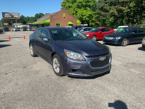2015 Chevrolet Malibu for sale at Super Wheels-N-Deals in Memphis TN