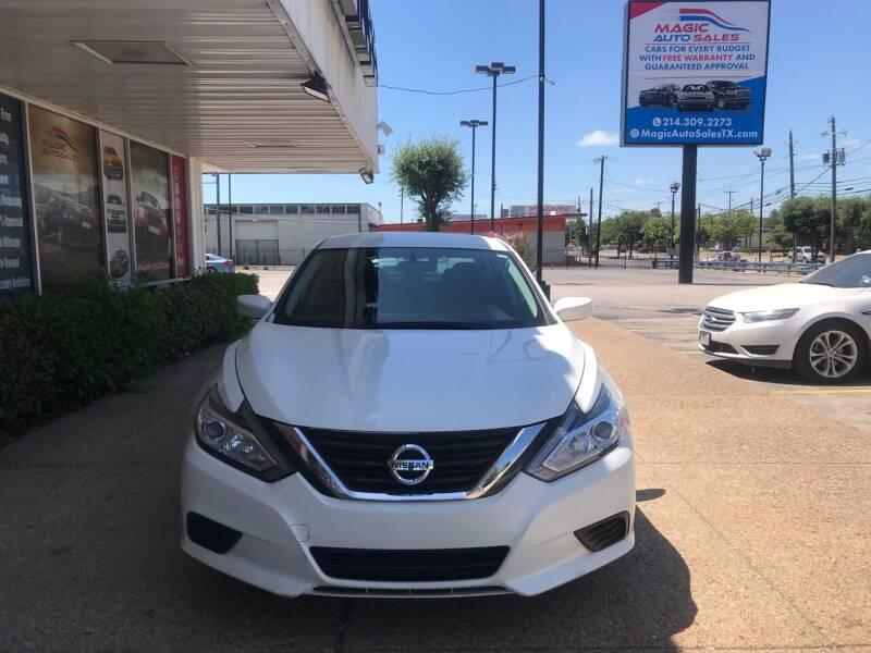 2016 Nissan Altima for sale at Magic Auto Sales in Dallas TX