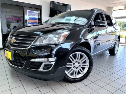 2014 Chevrolet Traverse for sale at SAINT CHARLES MOTORCARS in Saint Charles IL