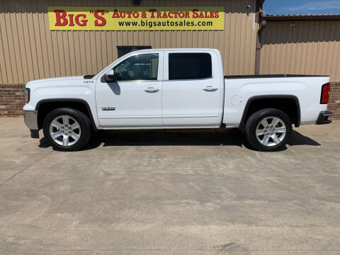 2017 GMC Sierra 1500 for sale at BIG 'S' AUTO & TRACTOR SALES in Blanchard OK