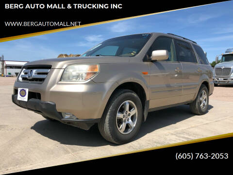 2006 Honda Pilot for sale at BERG AUTO MALL & TRUCKING INC in Beresford SD