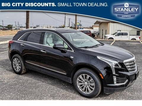 2017 Cadillac XT5 for sale at STANLEY FORD ANDREWS in Andrews TX