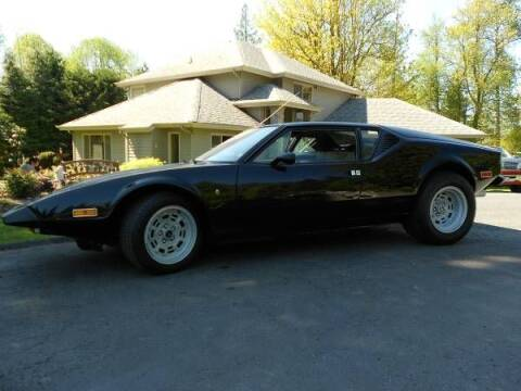 1973 De Tomaso Pantera for sale at Classic Car Deals in Cadillac MI
