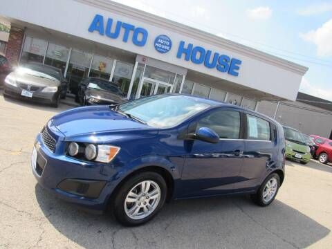 2013 Chevrolet Sonic for sale at Auto House Motors in Downers Grove IL