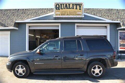 2004 Chevrolet TrailBlazer EXT for sale at Quality Pre-Owned Automotive in Cuba MO
