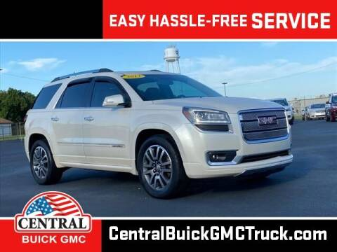 2013 GMC Acadia for sale at Central Buick GMC in Winter Haven FL