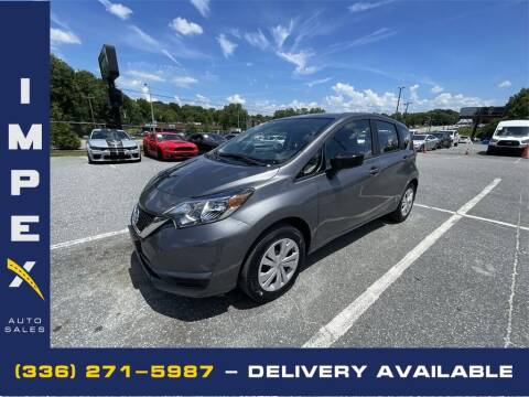 2019 Nissan Versa Note for sale at Impex Auto Sales in Greensboro NC