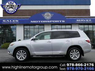 2008 Toyota Highlander Hybrid for sale at Highline Group Motorsports in Lowell MA
