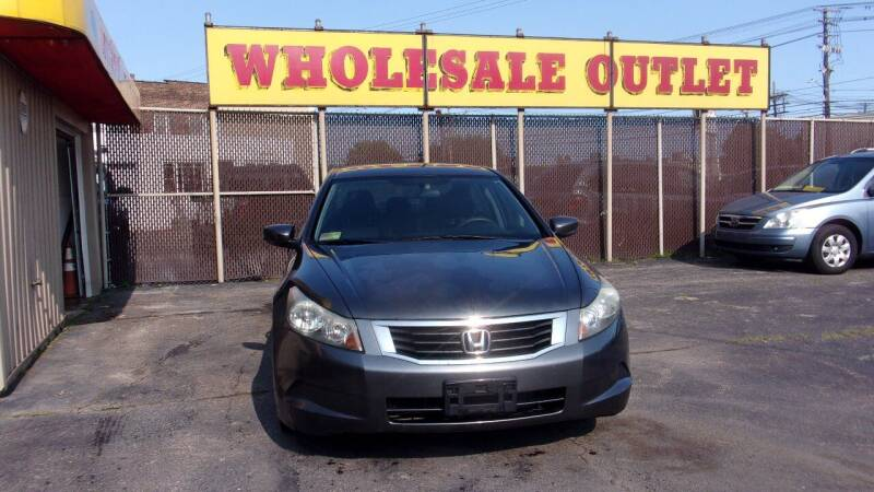 2008 Honda Accord for sale at LONG BROTHERS CAR COMPANY in Cleveland OH