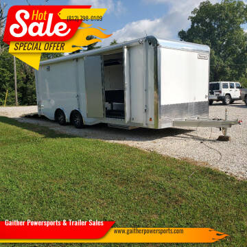 2017 Haulmark ALX HAR85X24WT3 for sale at Gaither Powersports & Trailer Sales in Linton IN